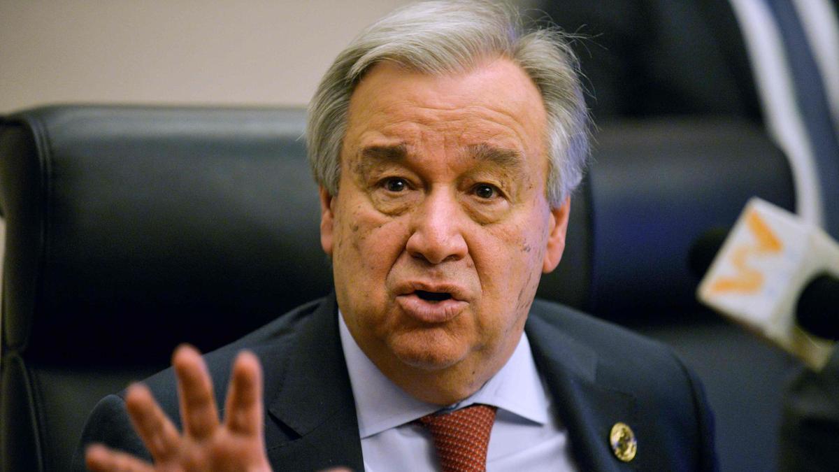 U.N. chief
