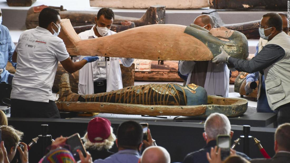 Archaeologists Find 100 Ancient Egyptian Coffins, At Burial Complex