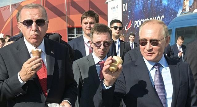 Photo of بوتين يدعو أردوغان على آيس كريم