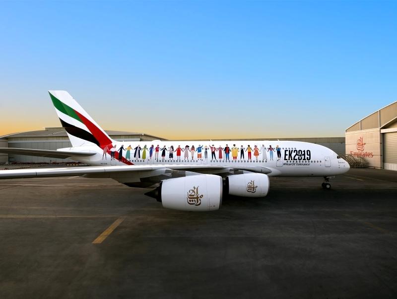 Photo of طائرة التسامح تحلق في سماء الإمارات غدًا