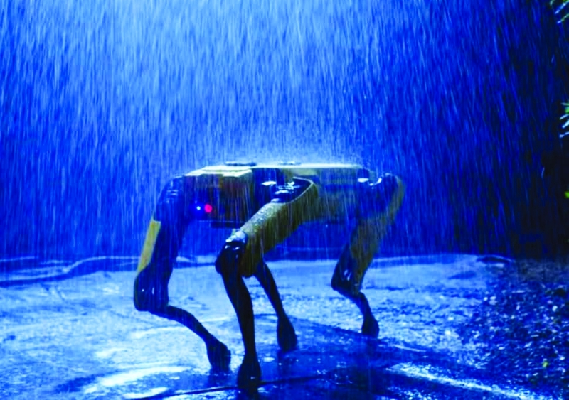 Photo of كلاب روبوتية لمراقبة المشبوهين في أمريكا