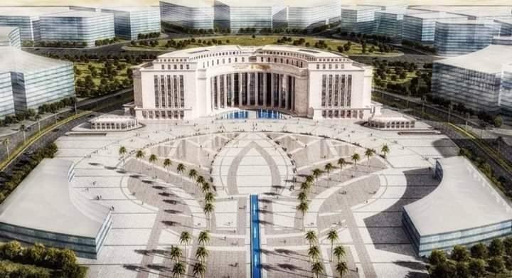 """Photo of شركة """" ECG """" تعلن موعد انتهاء أعمال تنفيذ المقر الرئيسي للبنك المركزي المصري بالعاصمة اﻹدارية"""