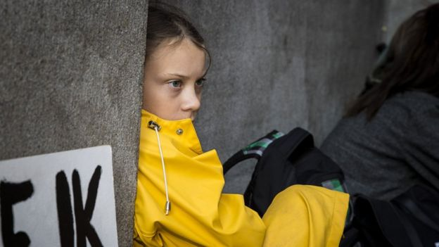 Photo of مجلة تايم تختار الفتاة السويدية غريتا تونبيرغ شخصية عام 2019