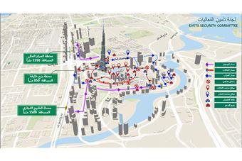Photo of خطة ذكية لتأمين احتفالات دبي في رأس السنة