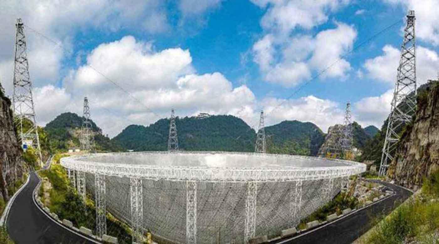Photo of أكبر تلسكوب لاسلكي في العالم يدخل الخدمة رسميًا