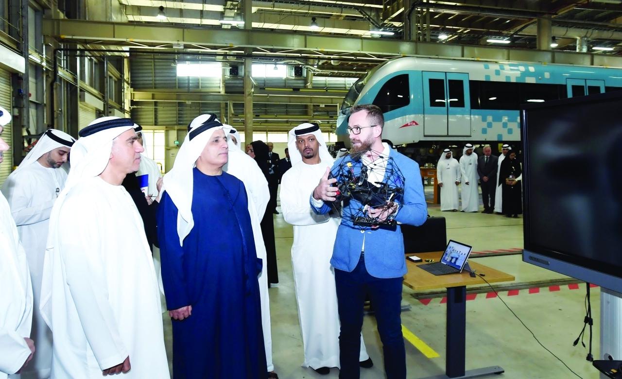 Photo of «طرق دبي» تفحص أنفاق المترو بـ «الدرون»
