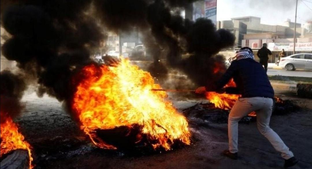 Photo of مظاهرات عراقية ضد أمريكا